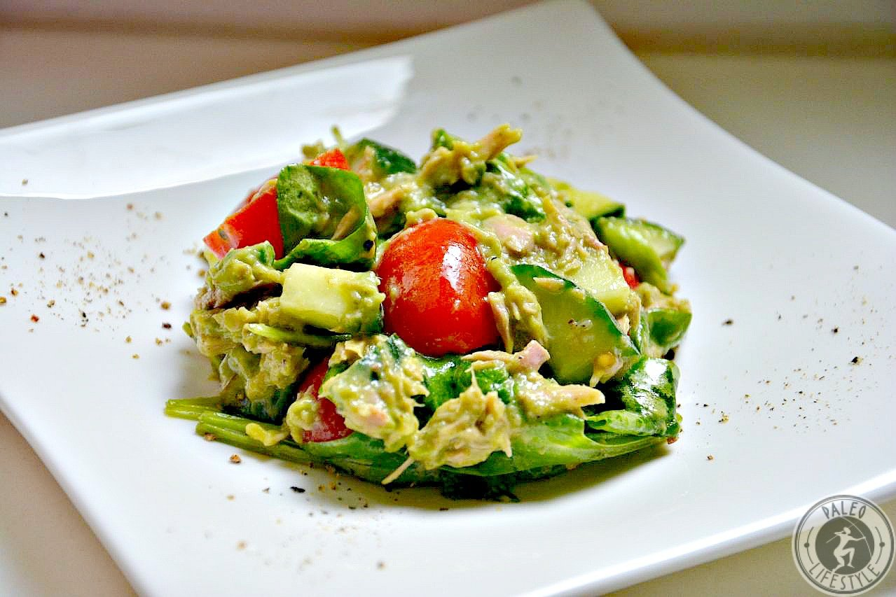 Thunfisch-Avocado Salat